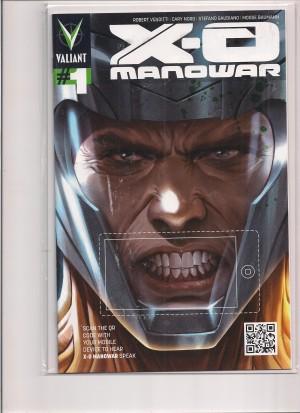 X-O Manowar 2012 #1 Variant – a