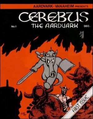 Cerebus The Arardvark1-1977