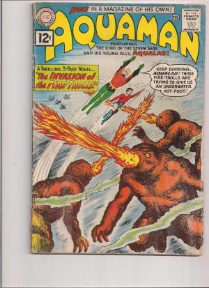 Aquaman 1962 #1 front – a