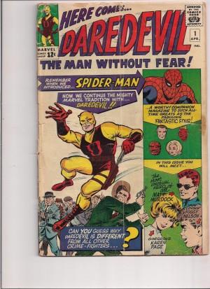 Daredevil 1964 #1 – front – a