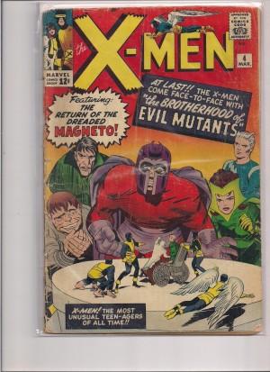X-Men 1964 #4 Front in bag – a