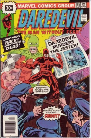 Daredevil 30 cent variant #135