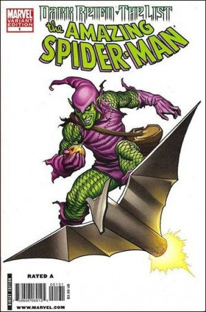 Dark Reign The List Amazing Spiderman #1 2010 1 for 200