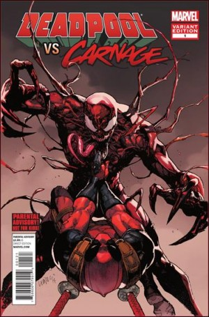 Deadpool vs carnage 1b 2014 1 for 25