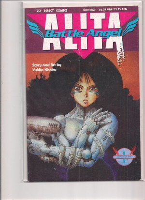 Alita Battle Angel #1 – a