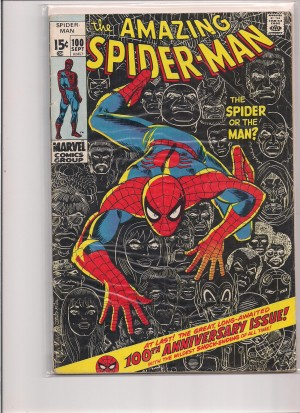 Amazing Spiderman #100 – 1-8-16