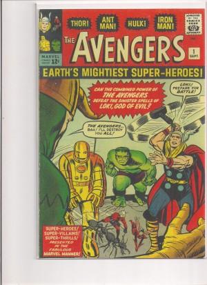 Avengers #1 – Facsimilie Cover