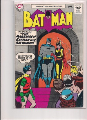 Batman Pizza Hut Variant #122 – a