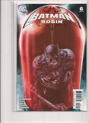 Batman and Robin #6 Variant – a