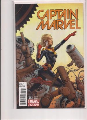 Captain Marvel 2014 #1 Variant – a – 12-19-15