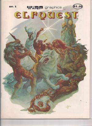 Elfquest 1978 #1 – 1st Print – a