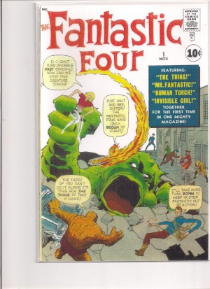 Fantastic Four #1 Facsimilie Cover – a