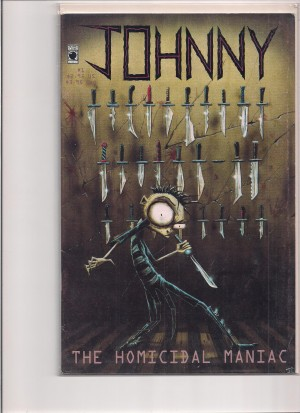 Johnny The Homicidal Maniac 1995 #1 1st Print – 1-17-15
