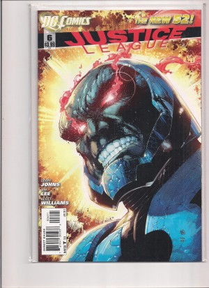 Justice League #6 Variant Darkseid – a