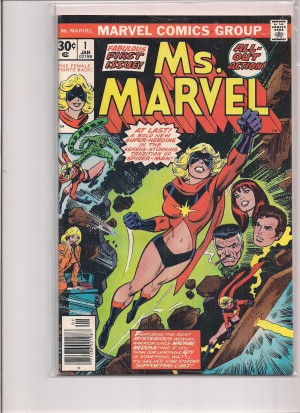 Ms Marvel 1977 #1 – 1-15-16