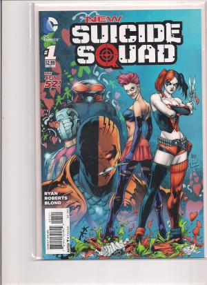 New Suicide Squad 2014 #1 Variant – a