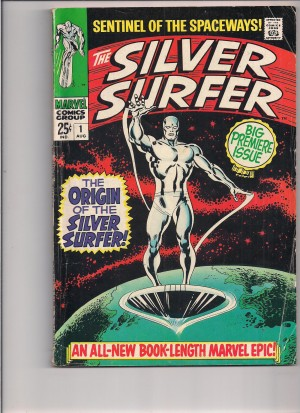 Silver Surfer 1968 #1 front – a