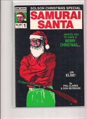 Solson Christmas Special Samurai Santa 1986 #1 – a