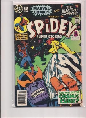 Super Spidey Stories #39 – a