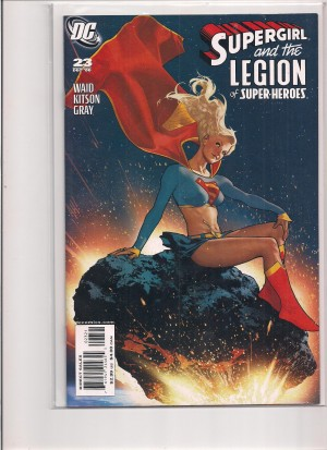 Supergirl and the Legion of Super Heroes #23 Variant – a