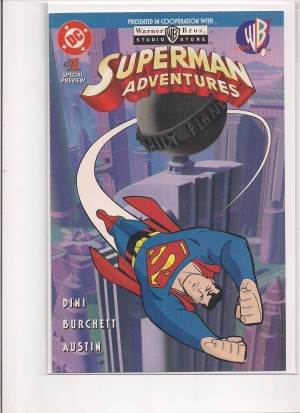Superman Adventures 1996 #1 Special Preview – a