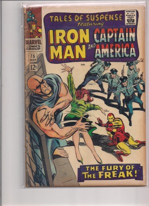 Tales of Suspense #75 – a