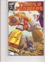 Transformers 2002 #1 3rd Print - a
