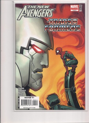 Transformers The New Avengers #4 – a