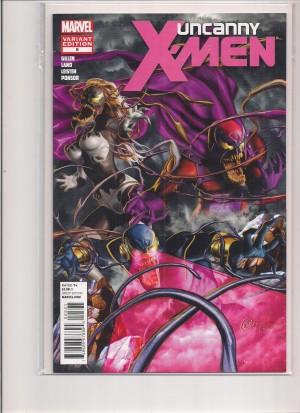 Uncanny X-Men #5 Venom Variant – a