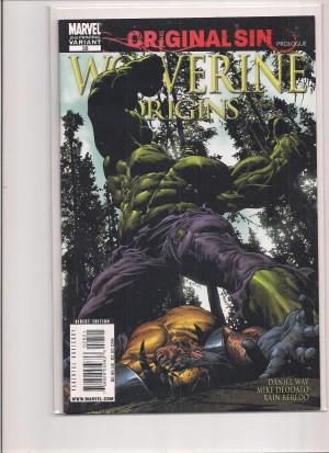 Wolverine Origins #28 2nd Print Variant – 12-29-15