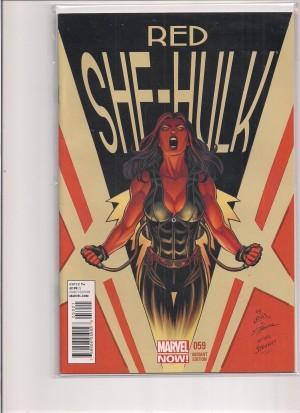 Red She-Hulk #59 1-50 Variant – a