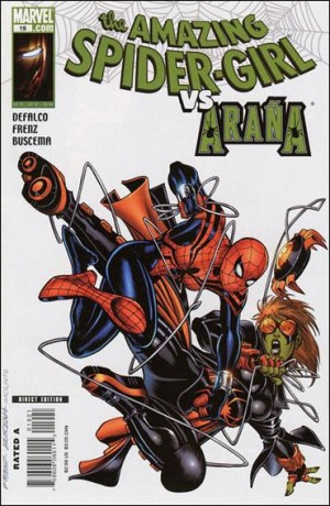 Amazing Spider-Girl 19 2008 1-10 var