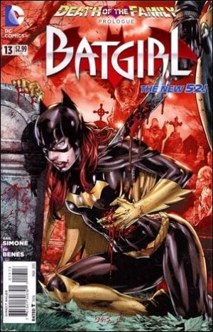 Batgirl 13 2012 3rd print