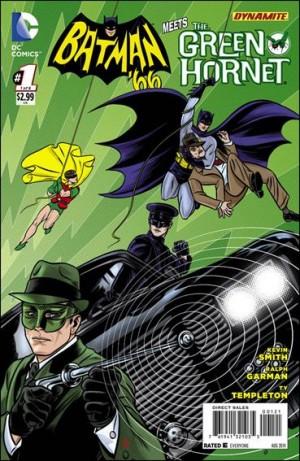 Batman 66 Meets Green Hornet 1 var 2014
