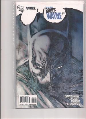 Batman Return of Bruce Wayne #6 1-25 Variant – 4-26-16