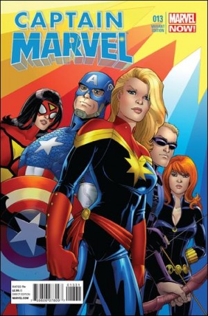 Captain Marvel 2013 var 13