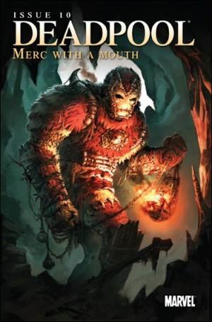 Deadpool Merc with a Mouth 10 var 2010