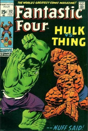 Fantastic Four 1971 112