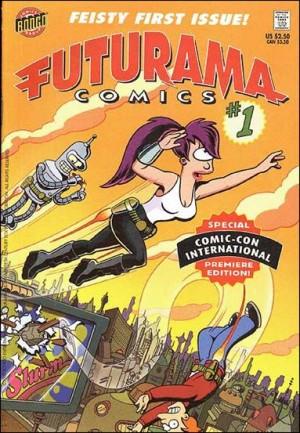 Futurama Comics 1 B comicon 2000