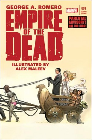 George Romeros Empire of the Dead Act One 1 b 2014