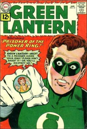 Green Latern 10 1962
