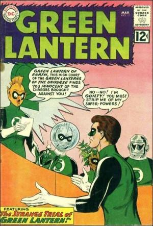 Green Latern 11 1962