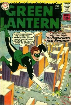 Green Latern 5 1961