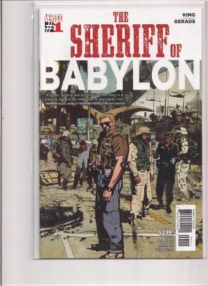 Sheriff of Babylon #1 – a