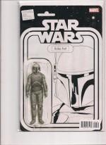Star Wars #7 Boba Fett B&W - a