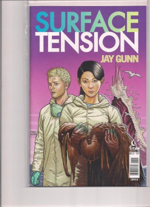 Surface Tension #1 Cover B – a