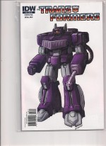 Transformers IDW RI #18 Shockwave