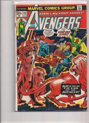 Avengers #112 GD – 7-22-16