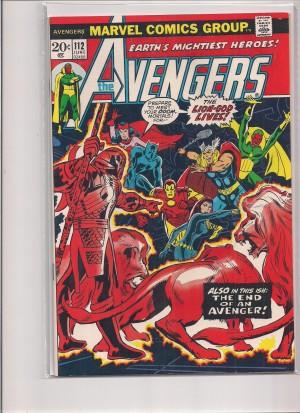Avengers #112 VF – 7-22-16