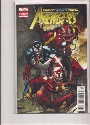 Avengers 2012 #21 Venom Variant – a